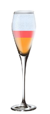 cocktail sans alcool incorruptible champagne recette conseils et service cocktail sans. Black Bedroom Furniture Sets. Home Design Ideas