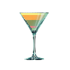 Cocktail ARC EN CIEL FIZZ
